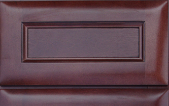 Cherry Glaze Kitchen Cabinet Details