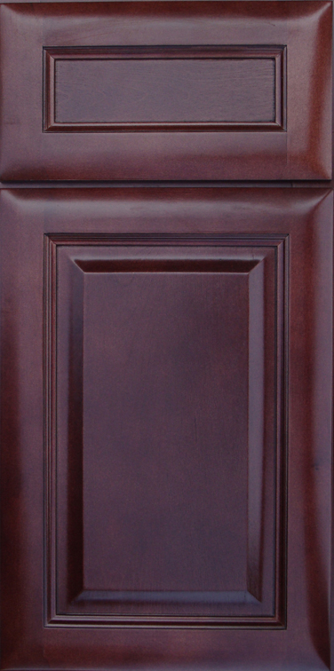 Cherry Glaze Cabinet Door