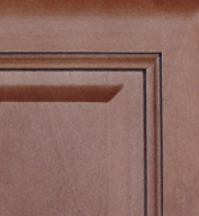 Cinnamon Glaze Kitchen Cabinets Details : Click to Enlarge