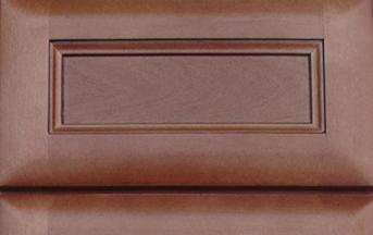 Cinnamon Glaze Kitchen Cabinet Details