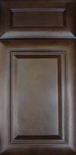 Espresso Glaze Cabinet Door: Click to Enlarge
