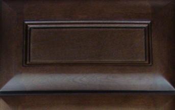 Espresso Glaze Kitchen Cabinet Details