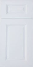Gramercy White Cabinet Door: Click to Enlarge