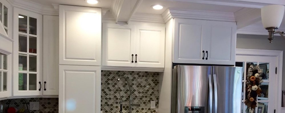 Gramercy White Cabinet Door