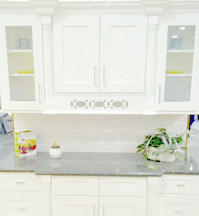 Ice White Shaker Kitchen Cabinets Details : Click to Enlarge