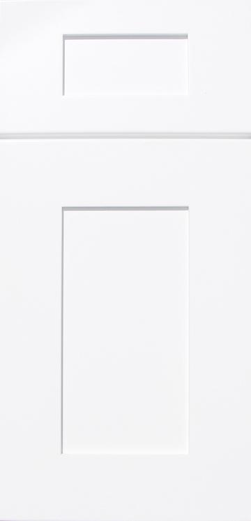 Close The Door >> Ice White Shaker Kitchen Door