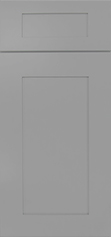Lait Grey Shaker Cabinet Door : Click to Enlarge