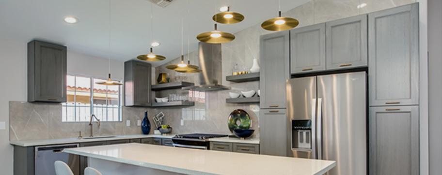 Nova Light Gray Shaker Kitchen Door