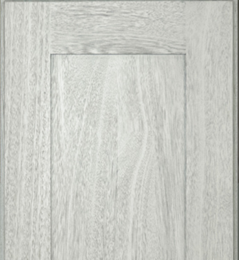 Nova Light Gray Shaker Kitchen Cabinets Details : Click to Enlarge