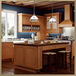 kitchen cabinets, shakertown